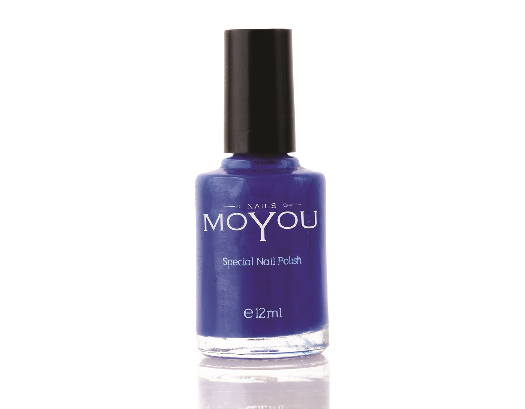 MoYou Nail Art Special Stamping Nail Polish Blue 12ml