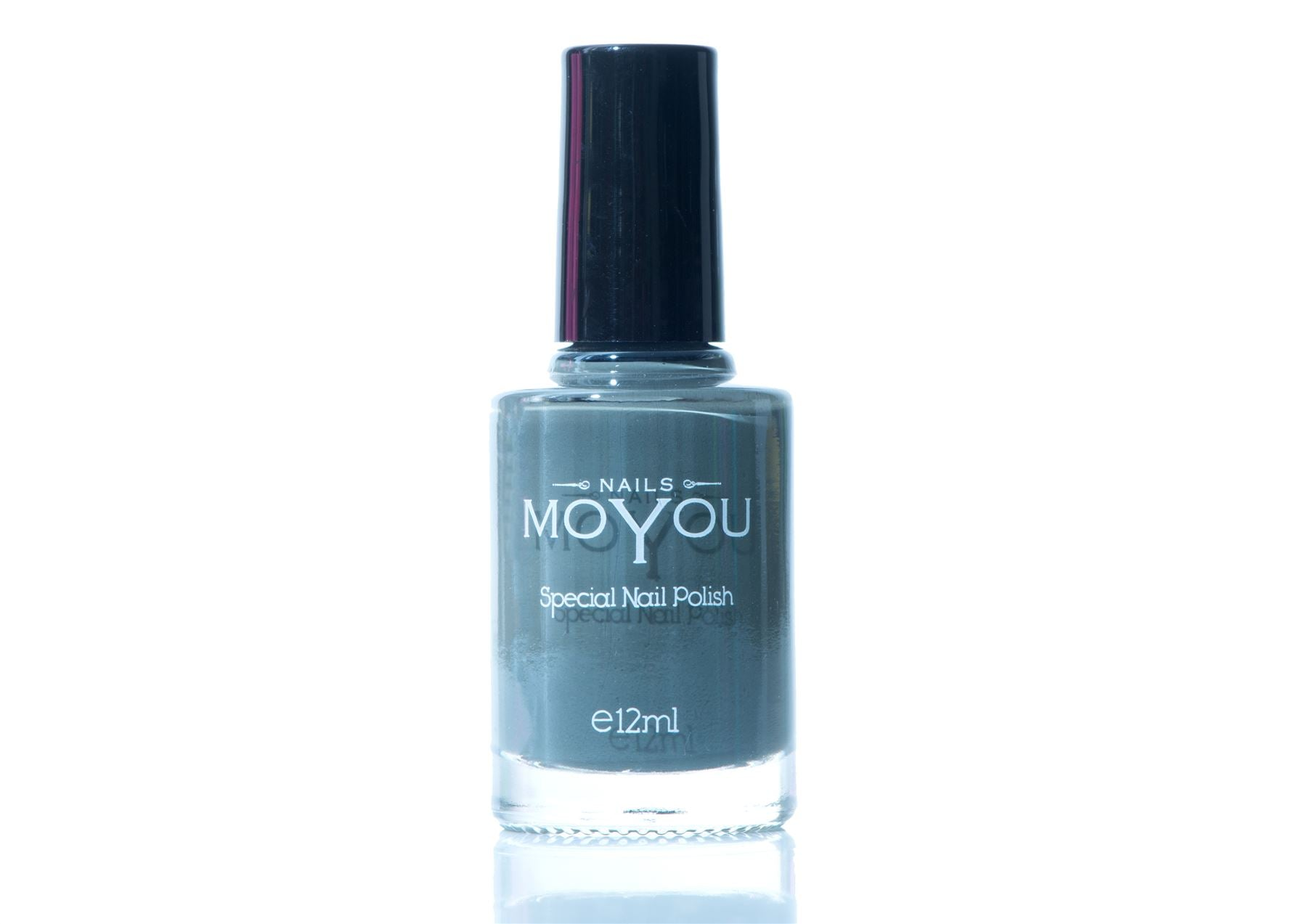 MoYou Nail Art Special Stamping Nail Polish Down Grey 12ml