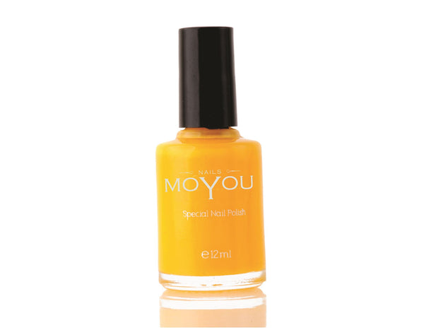 MoYou Nail Art Special Stamping Nail Polish Yellow 12ml
