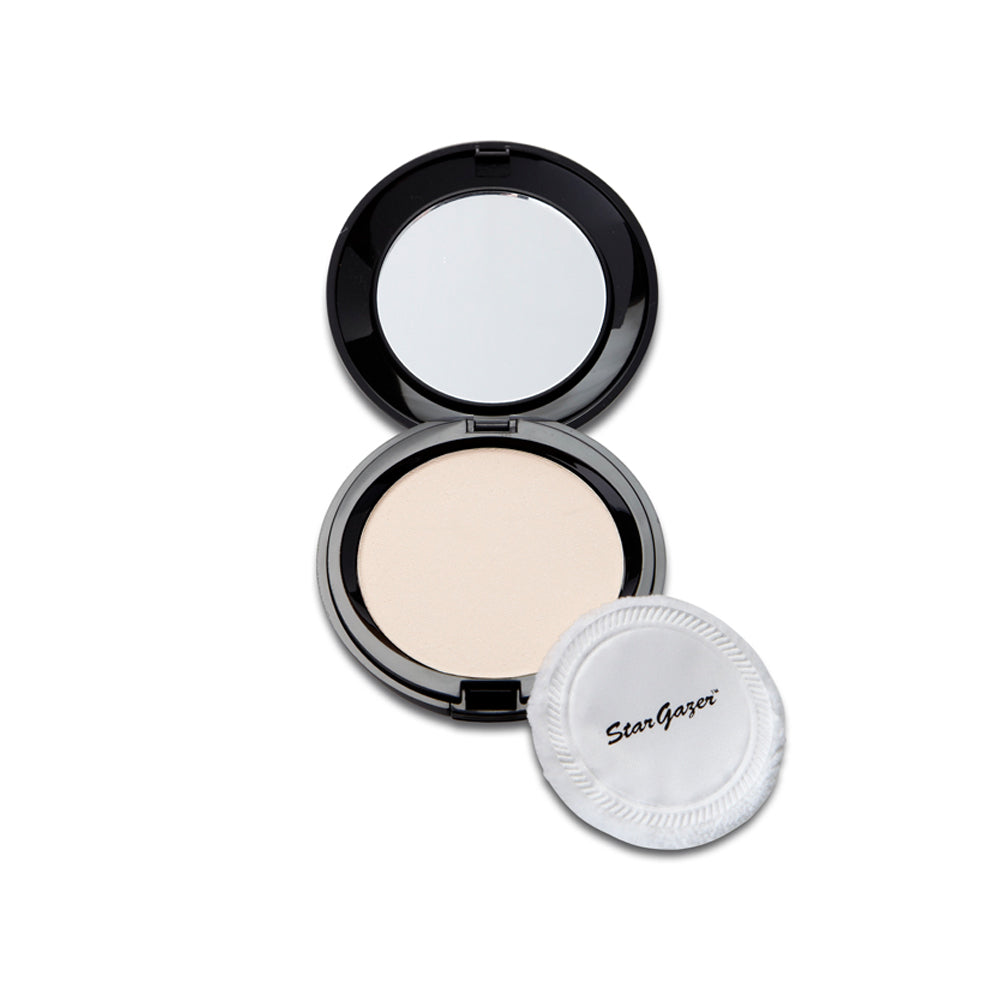 Stargazer Pressed Face Powder Compact Mirror Natural Shimmer  6g
