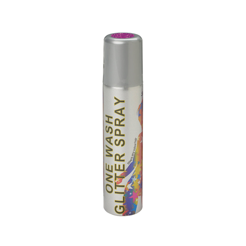 Stargazer Glitter Hair Spray One Wash Temporary Colour Purple 75ml