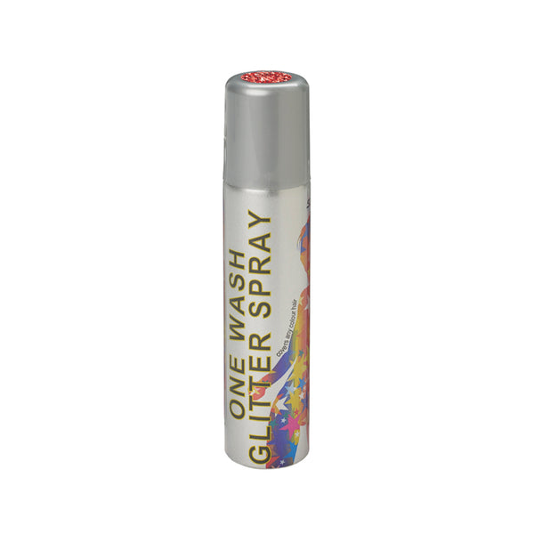 Stargazer Glitter Hair Spray One Wash Temporary Colour Red 75ml