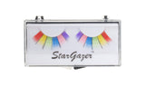 Stargazer False Eyelashes No.09 Multi Coloured Rainbow