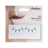 Stargazer False Feather Eyelashes No.42 Black and Light Blue