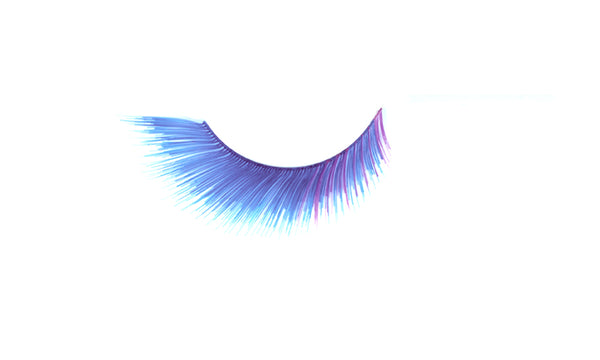 Stargazer False Feather Eyelashes No.50 Blue & Purple Accents
