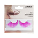 Stargazer False Feather Eyelashes No.68 Neon Pink Feather