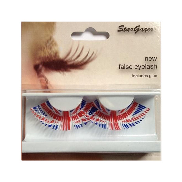 Stargazer False Eyelashes Union Jack  No.85