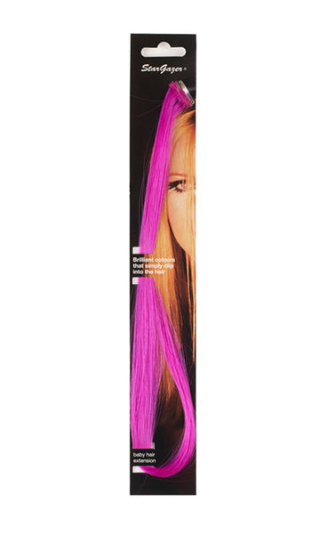 Stargazer Baby Hair Extension Fuschia