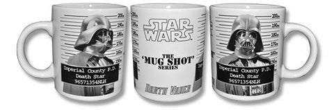 Caneca (Star Wars - Darth Vader Mug Shot)