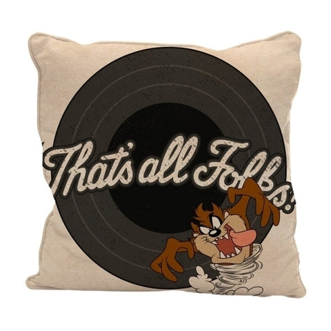 Almofada Looney Tunes (Taz that's all Folks)