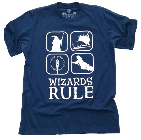 Camiseta Harry Potter (Wizards Rule)