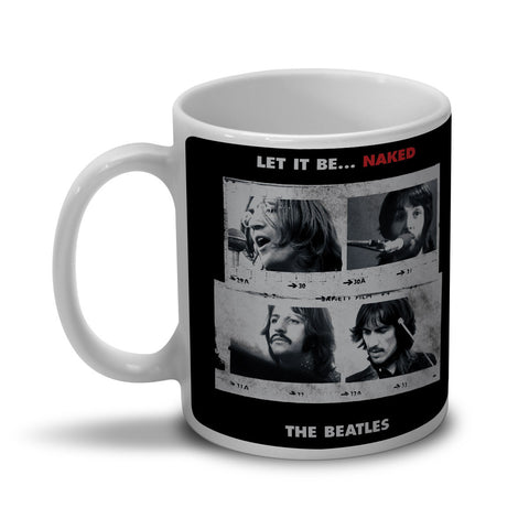Caneca The Beatles Let It Be Naked