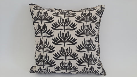 Stowe & so Euphorbia Scatter Cushion with zip: 45cm x 45cm ( Excluding inner)