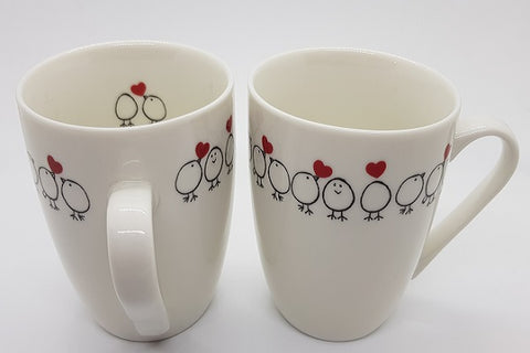 Stowe & so Mug Chicks in Love Design