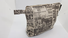 Stowe & so Toiletry Bag. Handmade. Grahamstown Design.
