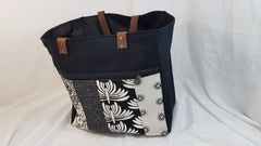 Stowe & so Teacher Bag. Charcoal and stone.