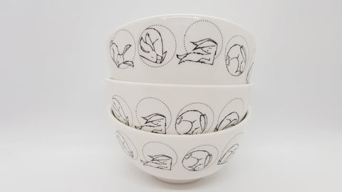 Stowe & so Ceramic Bowl Dust Bunnies