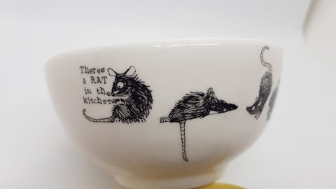 Stowe & so Ceramic Bowl Rat Race