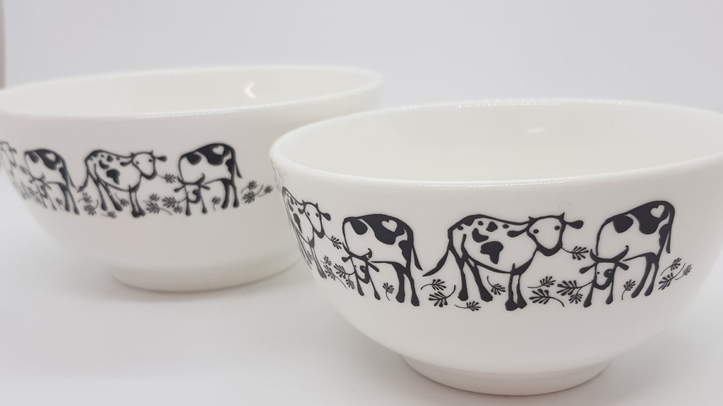 Stowe & so Ceramic Bowl Nguni Design