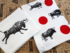 Stowe & So Tea Towel Set: Give It Horns.
