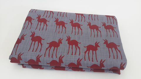 Stowe & so Table Cloth: Bokkie Design,  2,9m x 1,5m