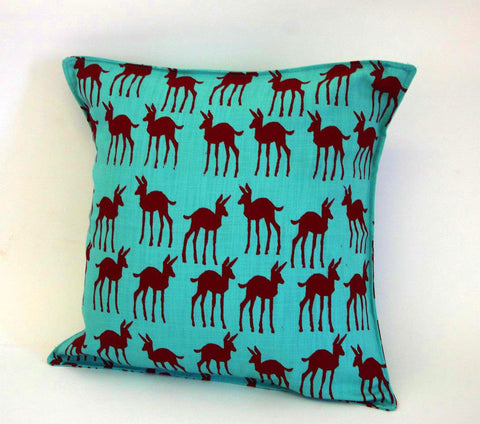 Stowe & so Scatter Cushion with Zip: Bokkie Design 45cm x 45cm (Excluding Inner)