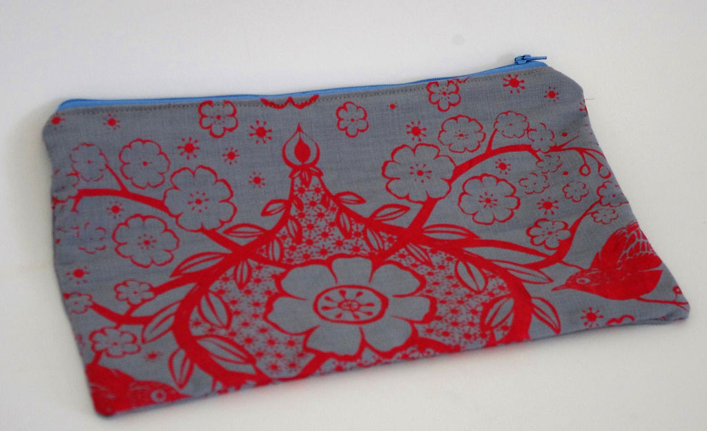 Stowe and so Pencil Case ( Large): Peach Blossom