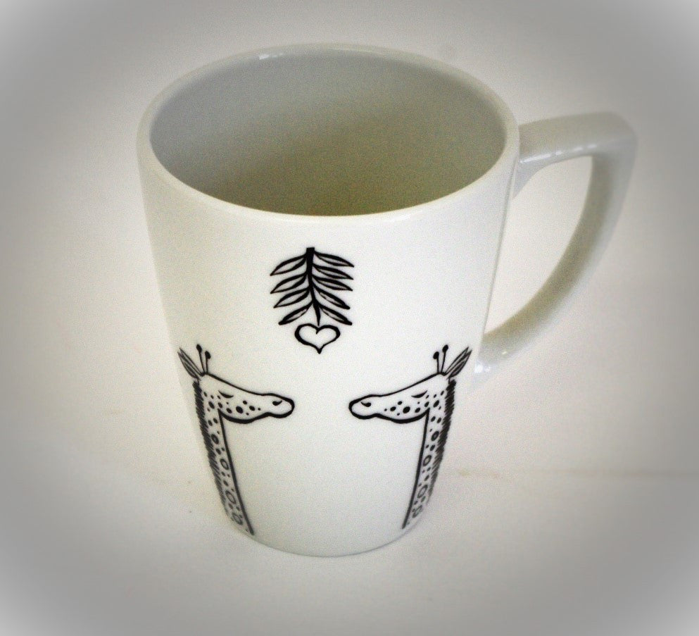 Stowe and so Giraffes in Love Mug/Cup