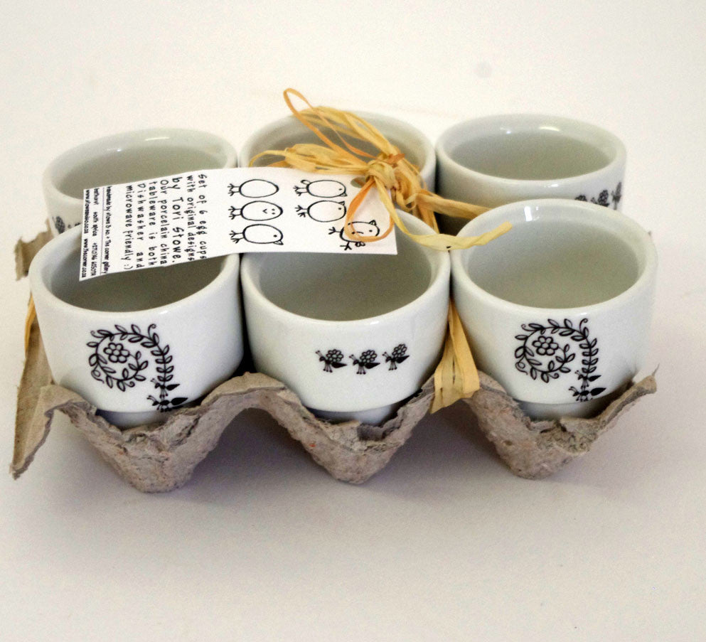Stowe & so Egg Cups (Set of 6): Ant Design