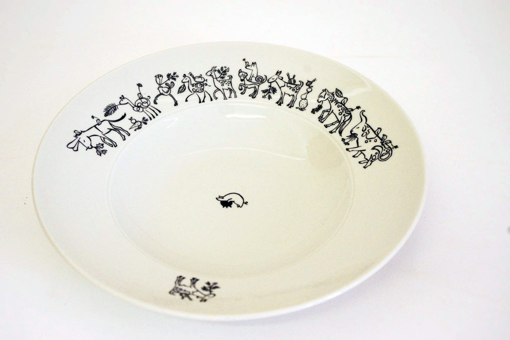 Stowe & so Pasta Bowl: Donkey Design