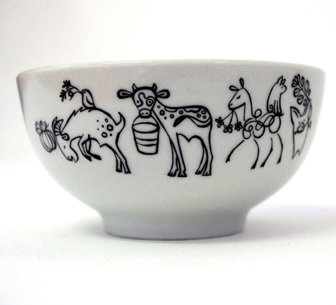 Stowe and so Goat Bowl (Small)