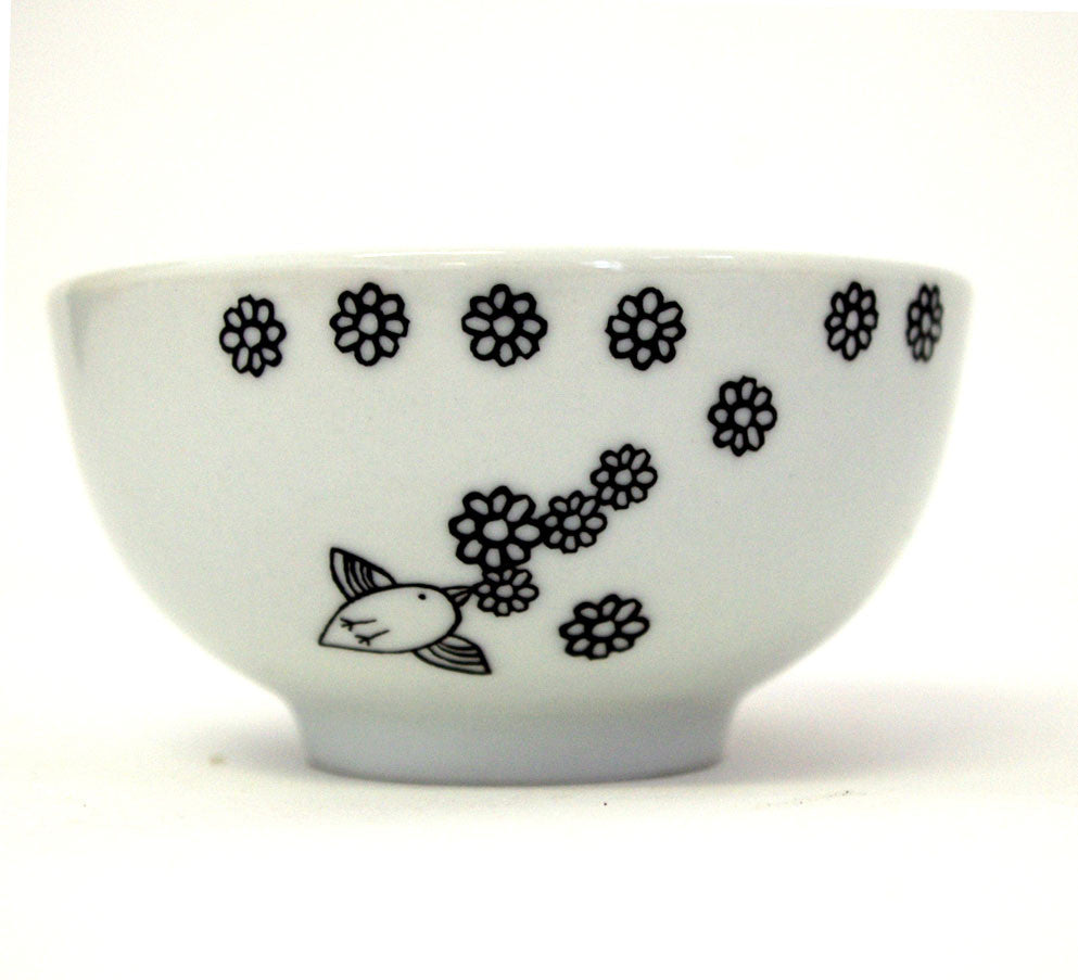 Stowe & so Floral Birdie Bowl (Small)