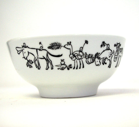 Stowe & so Bowl: Donkey & Friends, Large