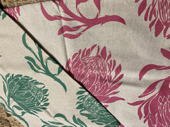 Stowe & so Tea Towel. King Protea. Set of two.