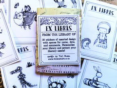 Ex Libris Stickers / From the library of.