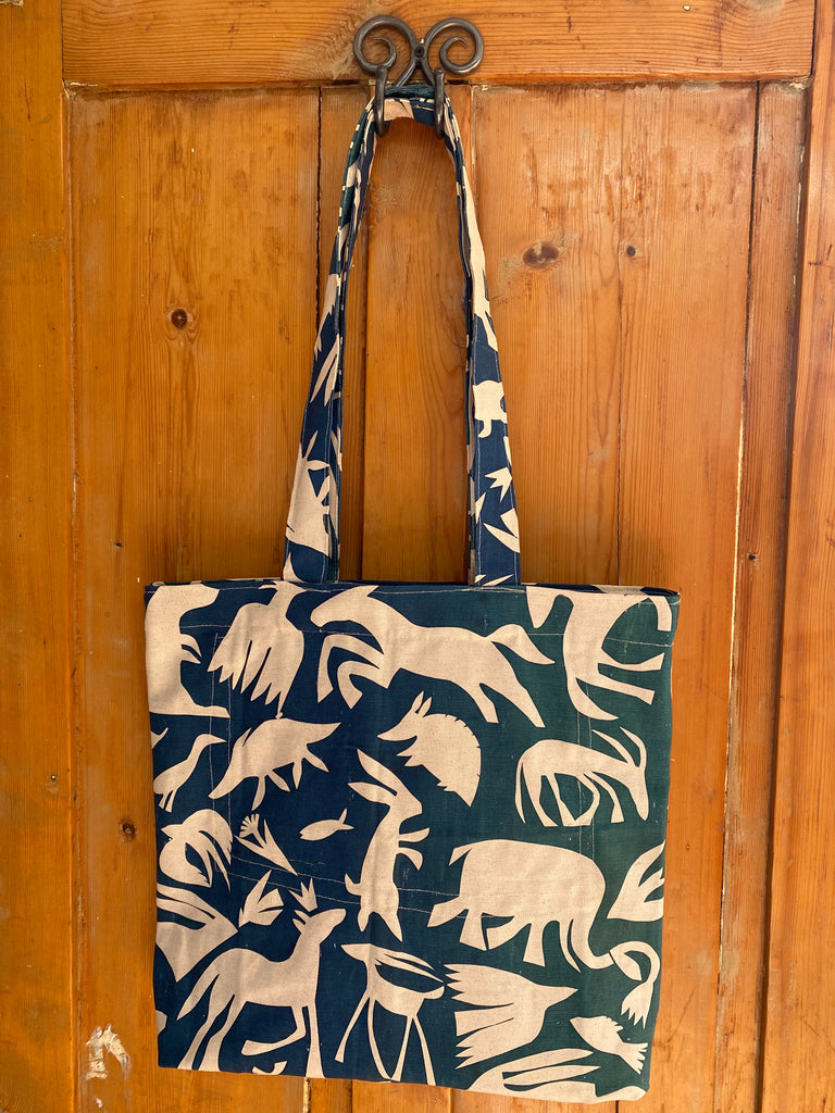 Shopper Bag. Animal Cut Outs - Once off
