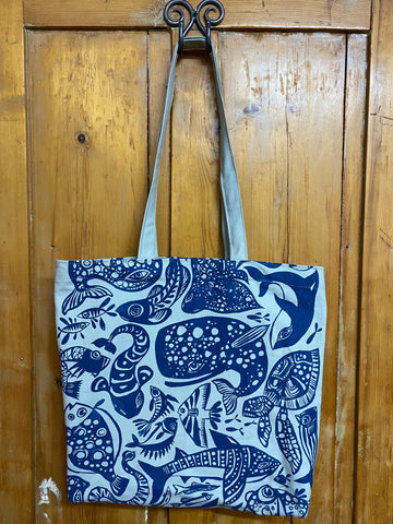 Shopper Bag. Fishy.