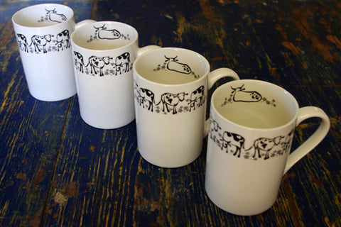 Stowe & so Mug Nguni Design