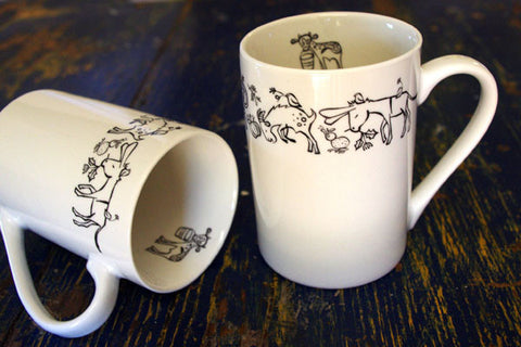 Stowe & so Mug Kei Lines Design