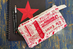 Stowe & so Pencil Case. Grahamstown Design.