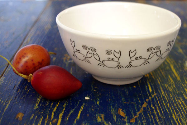 Stowe & so Ceramic Bowl Crab Design