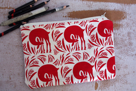 Stowe & so Pencil Case. Veldfolk Bushbuck.