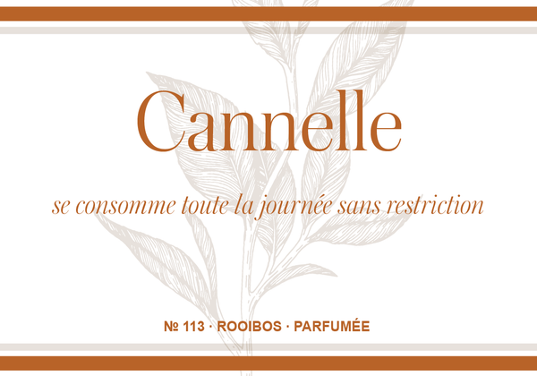 Rooïbos Cannelle