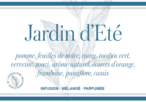 Jardin d'Eté aux notes de citron-mangue