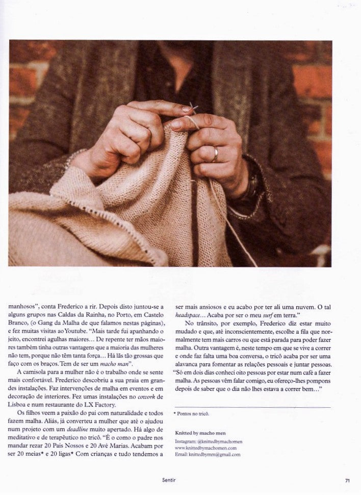 tribo magazine clipping