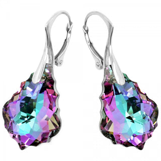 """A Touch of Baroque"" Earrings by Royal Crystals"