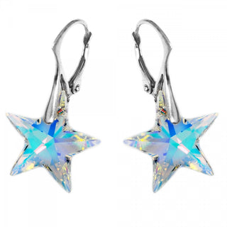 """Arabian Twinkle Star"" Earrings by Royal Crystals"
