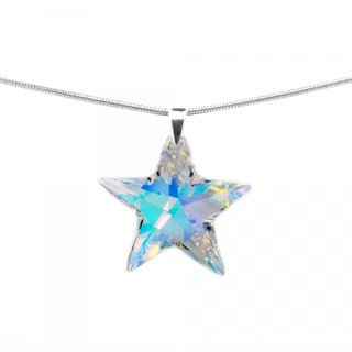 """Arabian Twinkle Star"" Pendant by Royal Crystals"