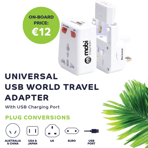 USB World Travel Adapter