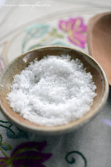 natural sea salt from Mani, thespartantable